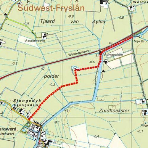 Burgwerd-Trekpad